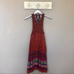Free People | Red Crochet Tunic / Mini Dress